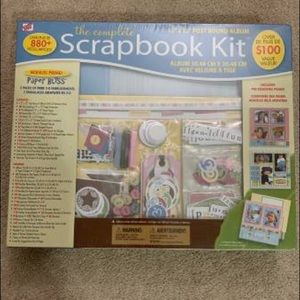 Office - Brand new scrapbook kit/album
